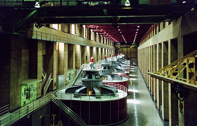 Hoover Dam Turbine Hall, Arizona/Nevada