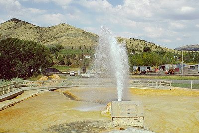 Soda Springs Geyser Park, Idaho