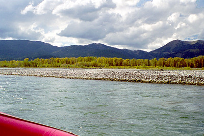 Snake River raft ride, Jackson Hole, Wyoming