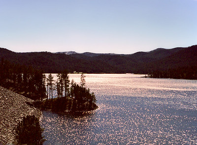 Pactola Lake, Black Hills National Forest, South Dakota