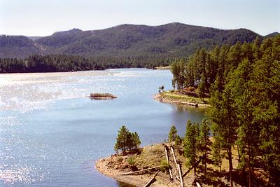 Pactola Lake, Black Hills National Forest, South Dakota
