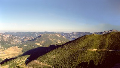 Rocky Mountain National Park (viewed from Rainbow Curve), Colorado