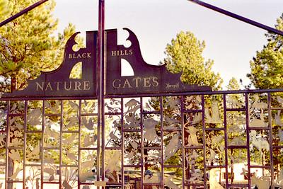 Black Hills Nature Gates, Crazy Horse Memorial, South Dakota