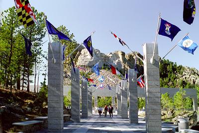 Mount Rushmore National Memorial, Black Hills, South Dakota