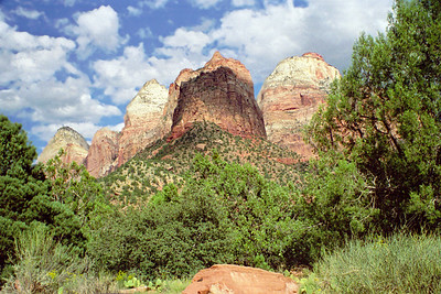 "Zion National Park, ""Altar of Sacrifice"", Utah"