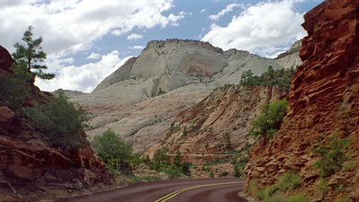 Zion National Park, Mt Carmel Highway, Southwestern Utah