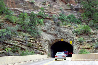 Zion National Park, Mt Carmel Highway tunnel, Southwestern Utah
