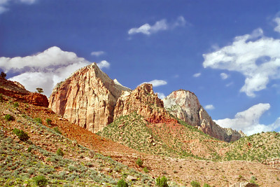 Zion National Park, The West Temple, Utah