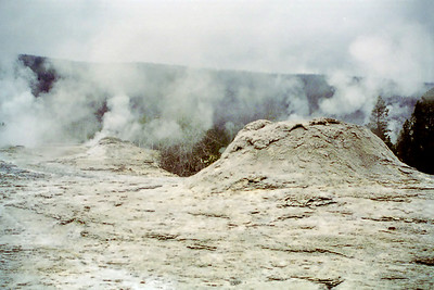 """Geyser Hill"", Yellowstone National Park, Wyoming"