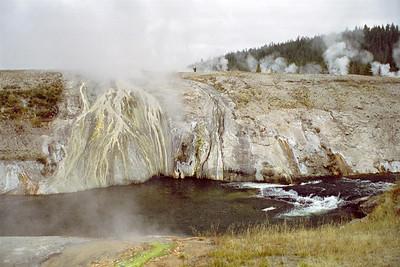 Geyser Basin (at Old Faithful Inn), Yellowstone National Park, Wyoming