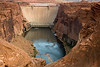 Glen Canyon Dam, Page Arizona, Downstream Side