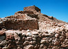 Ancient Indian Ruins At Tuzigoot, Near Jerome Arizona