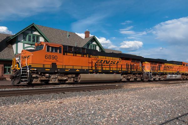 Historic Railroad Station, Downtown Flagstaff, Arizona