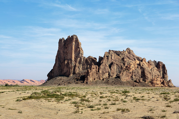 Desert landscape, Navajo Country near Kayenta, Arizona
