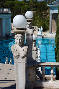 Neptune Pool at the Hearst Castle, San Simeon CA