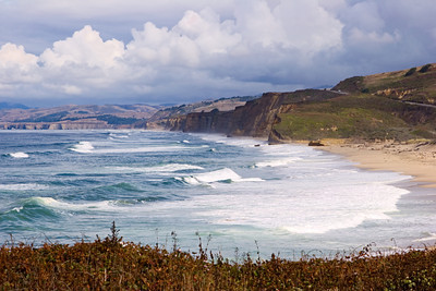 Pescadero Beach on the California Coast