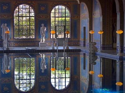 Roman Pool at the Hearst Castle, San Simeon CA