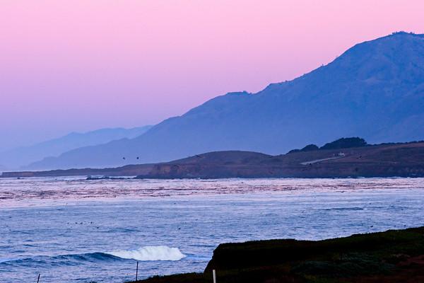 Big Sur at dawn