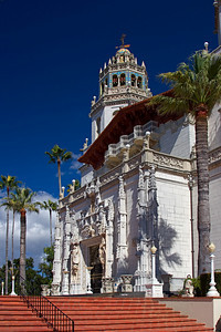 Casa Grande, Hearst Castle, San Simeon CA