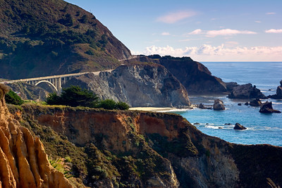 Highway Bridge over Soberanes Creek, Big Sur