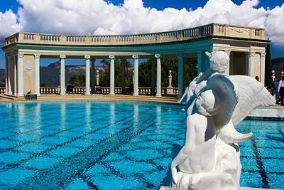 Neptune Pool at the Hearst Castle, San Simeon CA