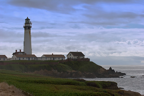 Pigeon Point Lighthouse on the California Coast