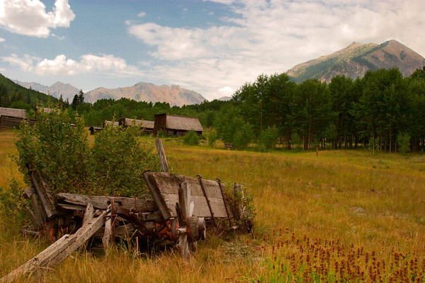 Ghost Town of Ashcroft, Colorado
