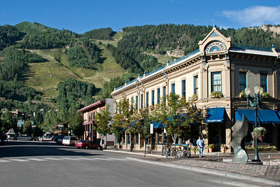 Downtown Aspen in Summer
