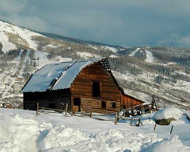 Log Cabin, Steamboat Springs, Colorado
