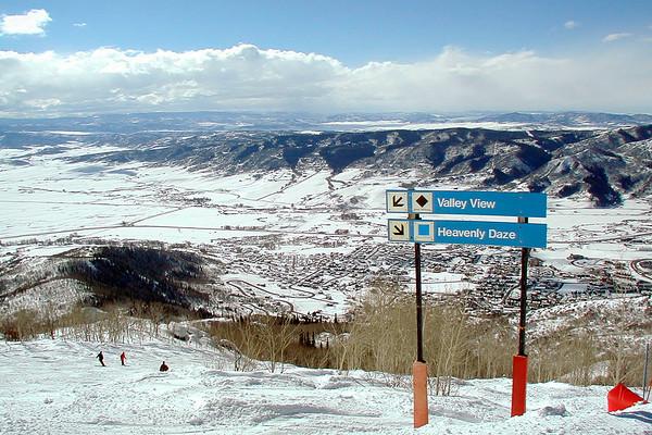 Vail Mountain Ski Trail