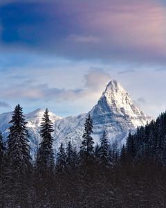 Mount Stimson, Glacier National Park, Montana