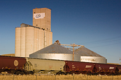 Grain Elevator on the Prairie