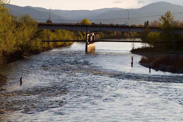 Clark Fork River, Missoula, Montana