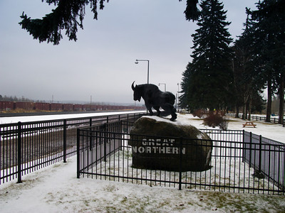 Mountain Ram Symbol, Great Northern railroad