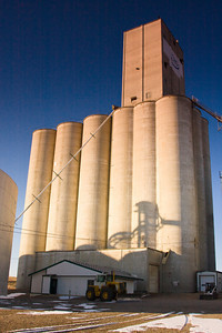 Grain Elevator on the Prairie