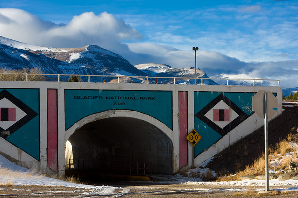Gateway to Glacier National Park and Blackfeet Indian Country, East Glacier, Montana