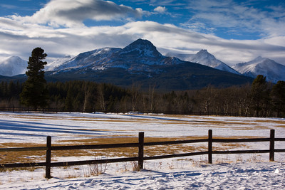 Bison Mountain, Glacier Nation Park, Montana