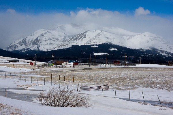 Montana Ranch near Glacier National Park, Montana