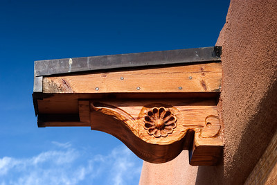 Southwestern Carved Beam