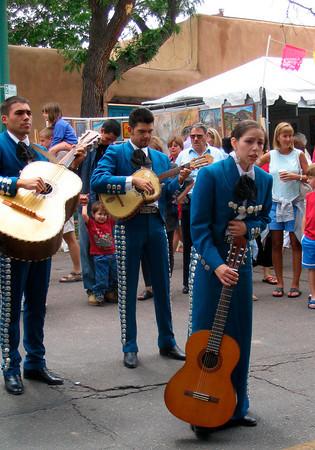 Mariachi Band At a Street Festival