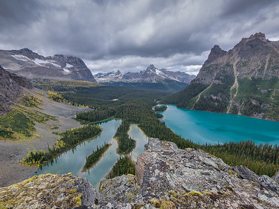 Lake O'Hara and Mary Lake