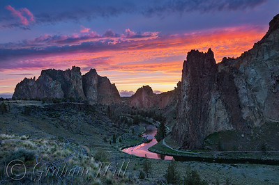 Smith Rock Sunset