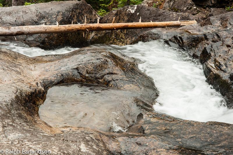A cascade in the Gore Range.