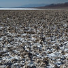 Salt flats at Badwater.