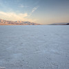 Salt flats at Badwater just after sunrise.