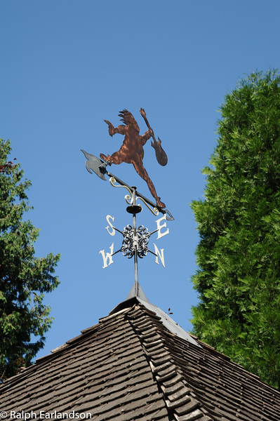 A sculpture at McMenamin's in Troutdale, Oregon.