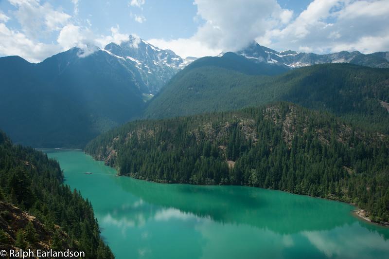 The North Cascades of Washington.