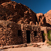 These cabins in Valley of Fire were built for travelers in the 1930s by the Civilian Conservation Corps.