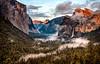 Clearing Storm at Yosemite