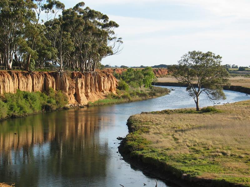 Werribee River - K Road Cliffs